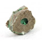 Natural Chrysoprase Seam with Window