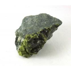 Natural Diopside and Chlinochlore Crystal Matrix