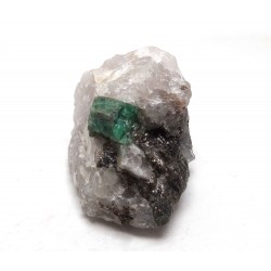 Emerald Crystal in Matrix