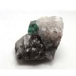 Emerald Crystal in Matrix