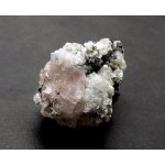Aquamarine Tourmaline and Pink Fluorite Formation