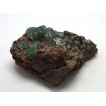 Rogerly Mine Green Fluorite Crystal Matrix