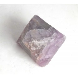 Purple Green Fluorite Octahedron Crystal