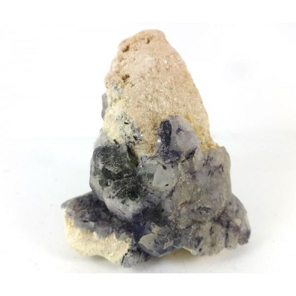 Fluorite Tourmaline  Stalagmite Matrix Formation