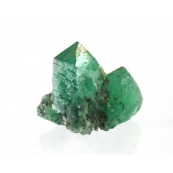 Rogerly Mine Green Fluorite Twin Crystal