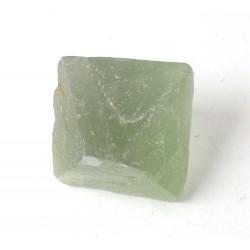 Green Fluorite Octahedron Crystal