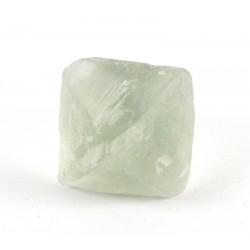 Light Clear Green Fluorite Octahedron Crystal