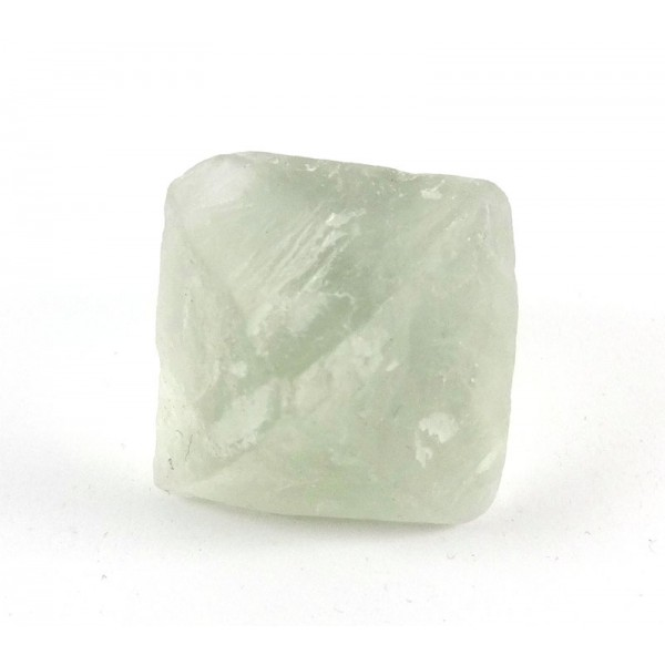 Light Clear Green Fluorite Octahedron Crystal