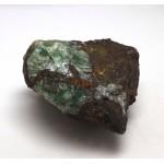 Green Fluorspar with Chalcopyrite - Cornwall