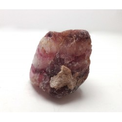Pink Purple Clear Natural Fluorite Piece
