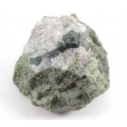 Demantoid Garnet within Host Rock