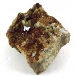 Garnet and Vesuvianite on Feldspar