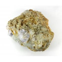 Natural Hackmanite Crystal with Richterite Formation