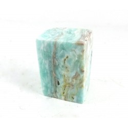 Blue Hemimorphite Crystal Rectangle