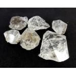 Genuine Herkimer Quartz Diamond Part Crystals Lot of 6