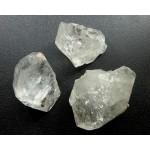 Genuine Herkimer Diamond Crystal 3 Pieces