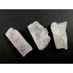 Kunzite Crystals Bag of 3