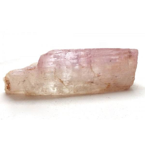 Light Gold Pink Kunzite Natural Piece