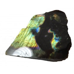 Stunning Papillion Labradorite Polished Face
