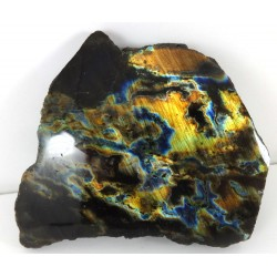 Vibrant Colours Labradorite Polished Surface