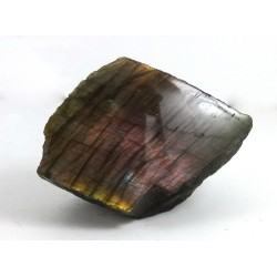 Purple Gold Blue Silver Labradorite Polished Surface
