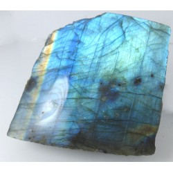 Blue Labradorite Polished Surface