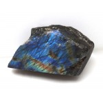 Blue Labradorite Polished Surface
