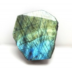 Blue and Gold Labradorite Upright