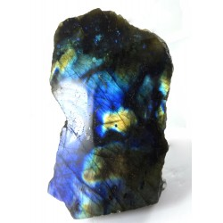 Gold and Blue Labradorite Upright