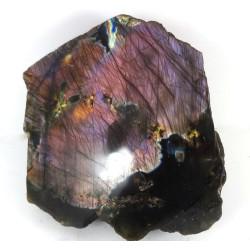 Shades of Purple Labradorite Polished Surface