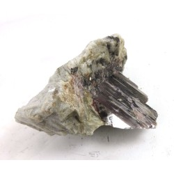 Lepidolite Crystal Wafers Growing From Feldspar