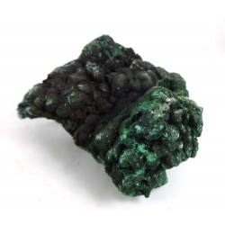 Crystalline and Botryoidal Malachite Specimen