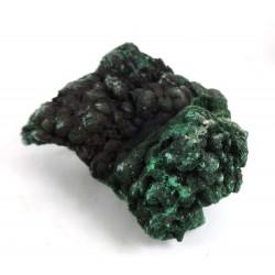 Crystalline and Botryoidal Malachite Specimen