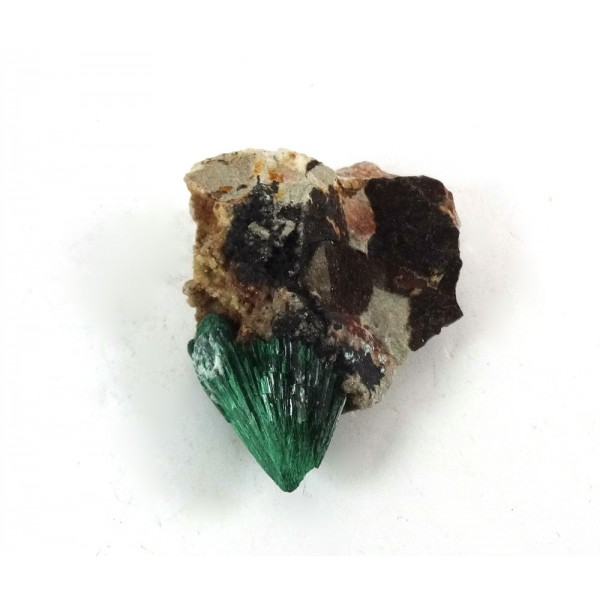 Bright Crystalline Malachite Matrix