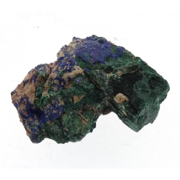 Pseudomorph of Malachite after Azurite