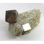 Pyrite Cube Mixed Size Matrix