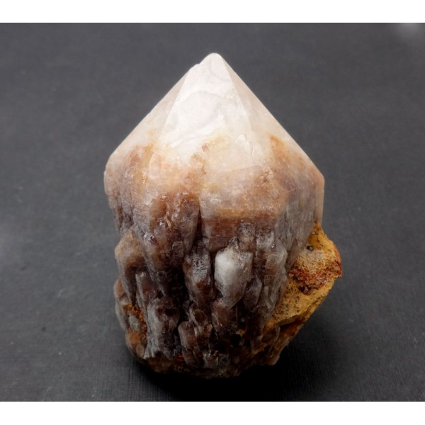 Colourful Candle Quartz Crystal Point
