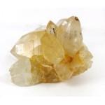 Chunky Golden Quartz Point Cluster