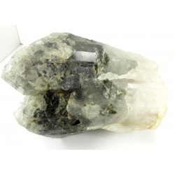 Quartz Cluster with Chlorite and Sphene Crystal