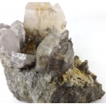 Manganese Quartz Lodalite Cluster