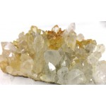 Hematite Golden Quartz Cluster