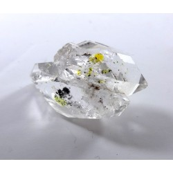 Clear Twin Himalayan Diamond Quartz with Oil Inclusion