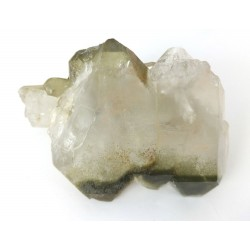 Faden Quartz Cluster with Chlorite