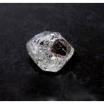 Compact Clear Diamond Quartz with Rainbow