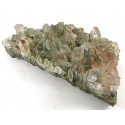 Hematite Chlorite Quartz Cluster