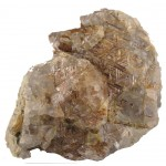 Big Golden Rutilated Quartz Formation