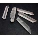 5 Clear Quartz Points 50-60mm
