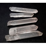 Clear Quartz Points 5 Pack