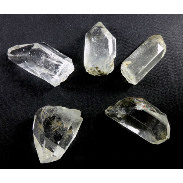 Himalayan Clear Quartz Points 5 Bag