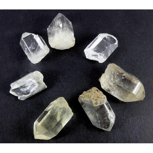 Himalayan Clear Quartz Points 7 Bag